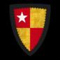 """K-037-Coat of Arms-VERE-Hugh de Vere (""""Huë de Ver"""").png"""