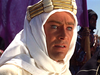 Peter O'Toole as T.E. Lawrence in Lawrence of Arabia (1962)