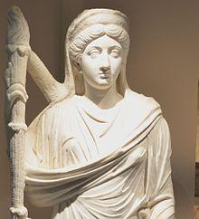 Statue of Marcus's daughter Lucilla