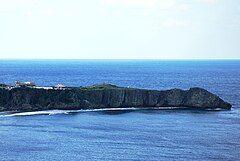 View of Cape Hedo from Yanbarukuina observatory.JPG