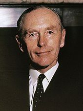 A photograph of Sir Alec Douglas-Home