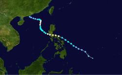 台风贝碧嘉的路径图