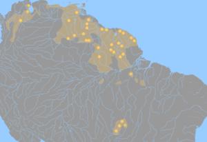 Cariban languages.png