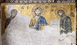 耶稣、圣母与施洗者约翰