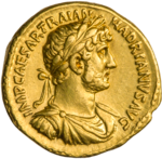INC-1842-a Ауреус Адриан ок. 119-122 гг. (аверс).png