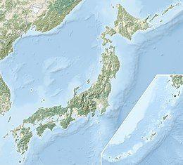 2011年日本东北地方太平洋近海地震在日本的位置