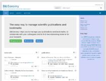 BibSonomy homepage