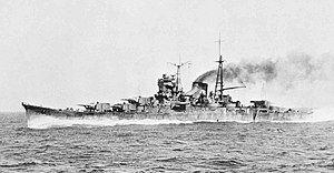Mogami running trials in 1935.jpg