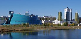 Downtown Astana With The National Concert Hall (6246435844).jpg