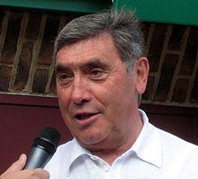 Eddy Merckx talking.