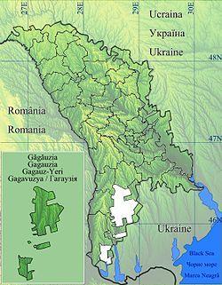 Ceadîr-Lunga is located in Găgăuzia