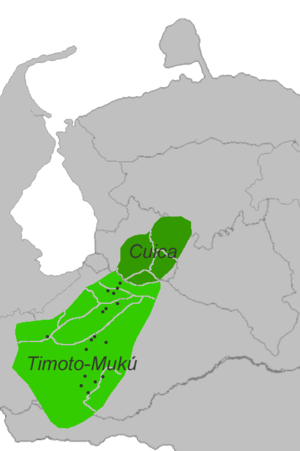Timote-Cuica languages.png
