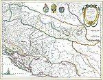 Sclavonia Croatia Bosnia cum Dalmatiæ parte