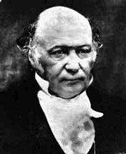 photograph of William Rowan Hamilton in looking left