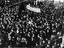 阿根廷联合工会于1915年举行的示威游行