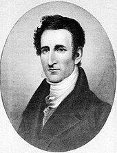 An engraving of Tyler.
