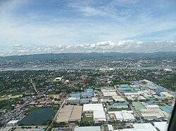 拉普拉普市鸟瞰图