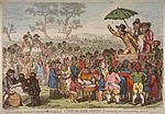 描绘法国大革命时期的政治漫画