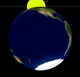 Lunar eclipse from moon-2070Apr25.png