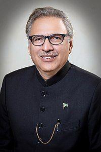 President of Pakistan Dr Arif Alvi.jpg