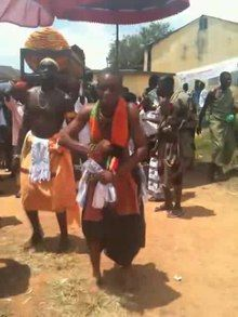 File:Traditional Adowa dance form and music performance.ogv