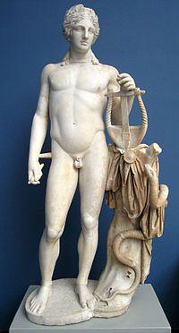 古罗马时代的阿波罗雕像