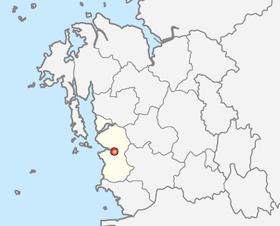 保宁市的位置