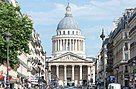 Panthéon from the Rue Soufflot, Paris 27 May 2017.jpg