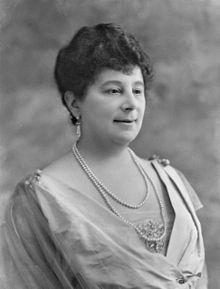 Portrait of Baroness Emma Orczy by Bassano