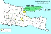Location of 马都拉岛
