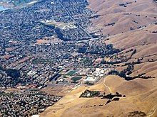 Aerial view of Ohlone College, September 2019.JPG