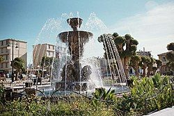Cherchell's fountain place