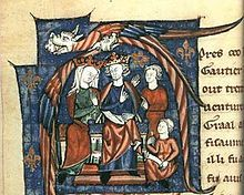 Picture of Henry II and Eleanor of Aquitain