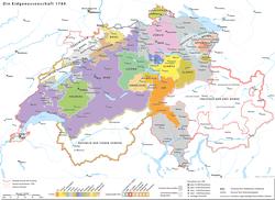 18世纪的瑞士邦联
