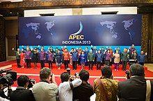 2013年APEC印度尼西亚峰会代表