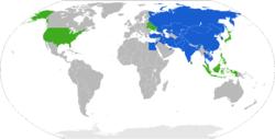 成员国  观察员国