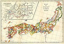 Location of Tokugawa Shogunate