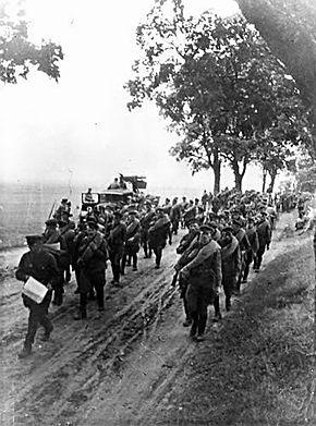 1939年苏联军队通过波兰进军