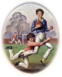 传说中橄榄球运动的开创者