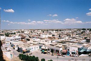 The skyline of El Djem