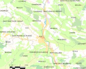 富瓦城区地图
