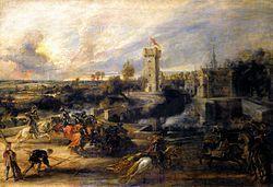 Peter Paul Rubens - Tournament in front of Castle Steen - WGA20410.jpg
