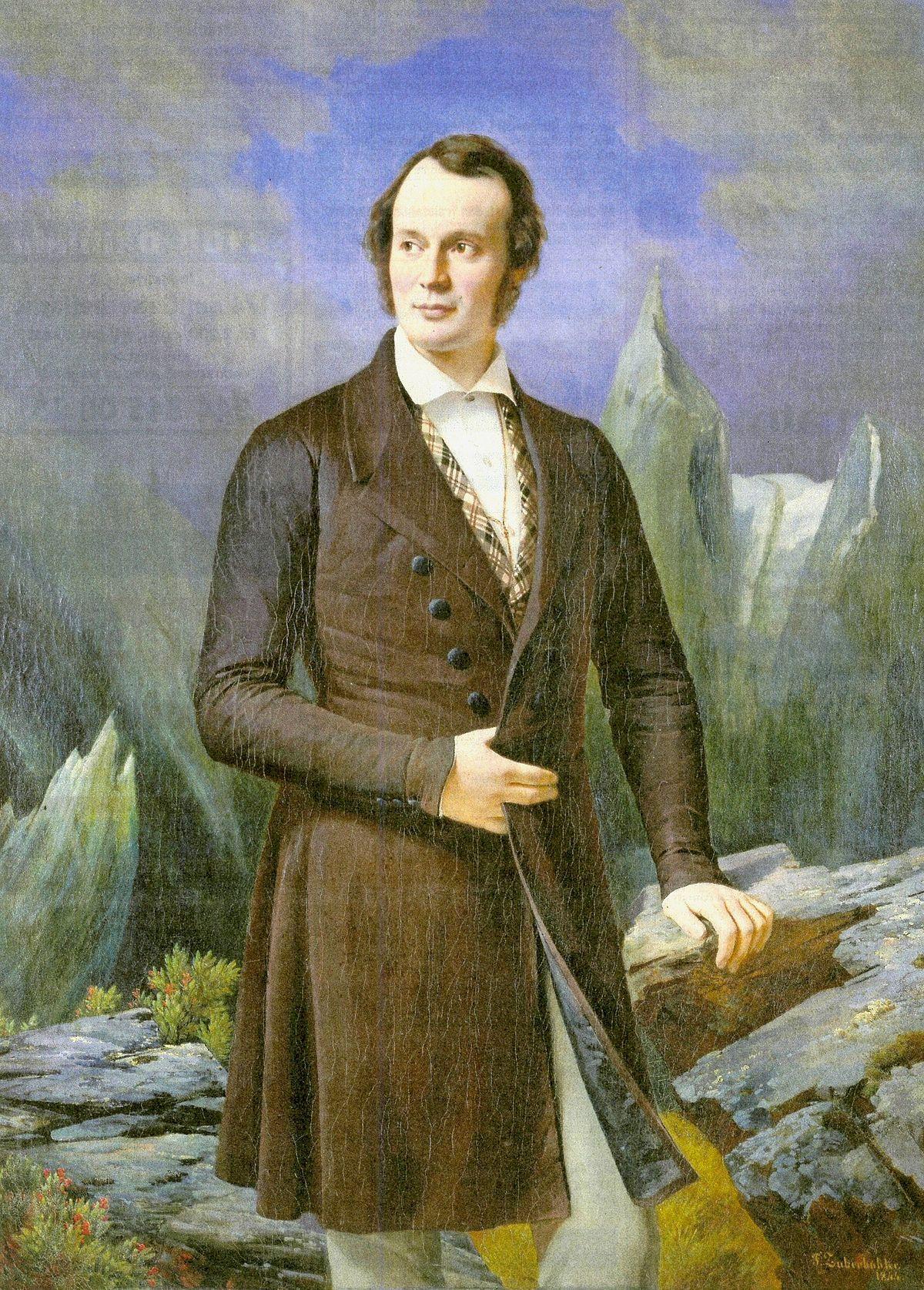Portrait of Louis Agassiz (1840)
