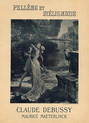 Georges Rochegrosse - Poster for the prèmiere of Claude Debussy and Maurice Maeterlinck's Pelléas et Mélisande.jpg