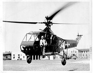 Igor Sikorsky in a U.S. Coast Guard HNS-1, 14 August 1944 (232-8).jpg