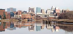 Downtown Wilmington and the Christina River