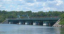 The City Island Bridge