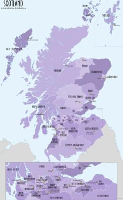 Scotland Administrative Map 2009.png
