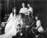 Family Nicholas II of Russia ca. 1914.jpg