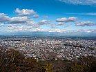 藻岩山から望む札幌市街地